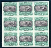 120p3 Block Of 9 Vf-superb Free Next Day Del. On Orders Over 500 2/5/21 Gp