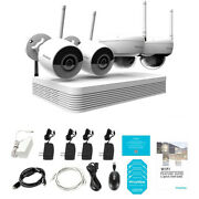 Laview 8 Channel Nvr Wifi Camera System 2x 1080p Ip Camera 1tb Hdd Pre-install