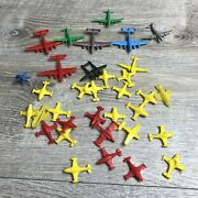 Vintage Mpc Playset Toy Airplanes Military Jets Aircrafts Mini Miniature