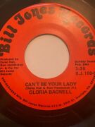 Rare Funk Boogie Soul 45/ Gloria Bagwell Canand039t Be Your Lady Bill Jones Hear