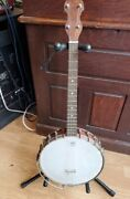 Antique Vega Tenor Banjo Style F - Four String Tone Monster - Great Condition