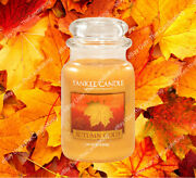 Yankee Candle - Autumn Gold - 22oz - Rare And Hard To Find
