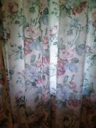 Very Large Lot Vintage Burlington Pinch Pleated Lined Drapes And Rod Pocket Drapes
