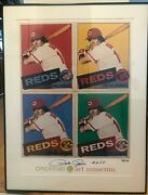 Rare Pete Rose Andy Warhol Art Museum Poster Signed/autographed 76/114