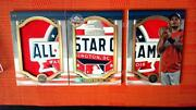 2019 Topps Triple Threads Yadier Molina Mlb All Star Game Jumbo Patch Book Card
