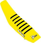 Dcor Factory Reinforced Seat Cover - Yellow/black Ribs 30-40-457 0821-3192