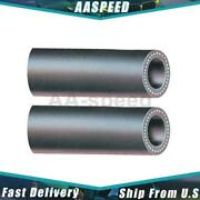 2x Hvac Heater Hoses Auxiliary Heater Pipe Auxiliary Heater Gates For Club Wagon