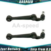 2x Control Arm Ball Joint Assembly Front Lower Forward Set Moog For Mazda 6