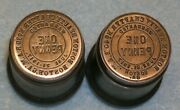 2 Boston Ga Hall Masonic Penny Stamping Die Boston Beauty Chapter 39 And 40