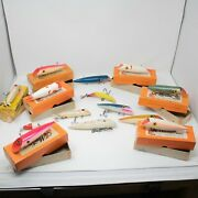 Lot Of 14 Vintage Martin / Other Fishing Lures