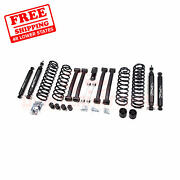 Zone 4 F And R Suspension Lift Kit For Jeep Grand Cherokee Zj 4wd Gas 1993-1998