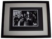 Pete Best Signed Framed Autograph 16x12 Photo Display The Beatles Music Coa