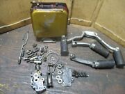 1969 Harley Davidson Sportster Oil Tank And Pump Front Rear Foot Pegs