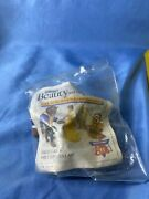 Disney Burger King Corporation Kids Club Beauty And The Beast Toy Figurines 1991