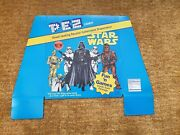 Pez Candy Star Wars Display Topper 1997 Lucasfilm Promotional Item