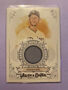 A27756 - 2018 Topps Allen And Ginter Relics Fsrbcr Clayton Kershaw Jersey