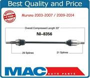 Rear Left Or Right Cv Axle Shaft Fits Nissan Murano 03-14 All Wheel Drive Models