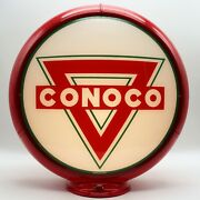 Conoco Triangle 13.5 Gas Pump Globe Ships Assembled - Ready For Your Pump