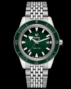 Rado Captain Cook Automatic Green Dial Stainless Men Watch R32505313