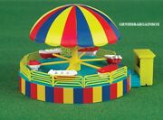 Ho 187 Scale Circus Carnival Boat Ride Kit W/motor Bachmann New In Box 46242