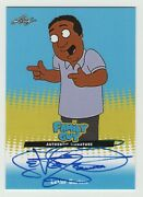 Family Guy Seasons 3 4 And 5 Autographed Insert Card Lb1 Of Levar Burton