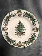 2005 Spode England Annual Collector Plate Christmas Tree Made In England Euc