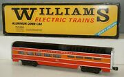 Williams Crown Edition 2612-d Southern Pacific Daylight Aluminum Diner Car Ob