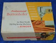 Professional Buttonholer For Slant Needle Zz Sewing Machines By Singer 102577