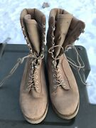 Canadian Desert Boots Hot Weather Combat Boots Size Mens 7 W Wide Very Good