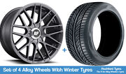 Rotiform Winter Alloy Wheels And Snow Tyres 19 For Honda Cr-v [mk3] 06-12