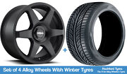Rotiform Winter Alloy Wheels And Tyres 19 For Merc Clk-class A208/c208 97-02