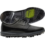 Nike Air Zoom Victory Tour Black Leather Menand039s Golf Shoes Aq1479 001 Size 13