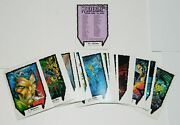 Marvel Wolverine From Then 'til Now 45 Trading Cards Set I Ci 1991 Near Mint