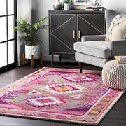 Nuloom Diamond Castle Tribal Runner Rug 2and039 6 X 8and039 Assorted Sizes Colors