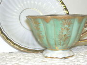 Antique Demitasse Cup And Saucer Sterling China Japan