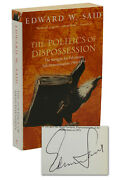The Politics Of Disposession By Edward Said Signed Paperback 1995 Palestine
