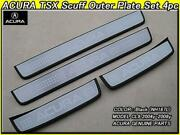 New Honda Accord Cl7cl9acura Accord Tsx Cl9/cl8/cl7 Black Scuff Plate