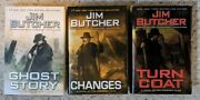 Jim Butcher = Turn Coat + Changes + Ghost Story = Hardcovers 1/1st Dresden Files