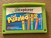 Leapfrog Leapster Explorer Get Puzzled Learning Game Leap Pad23gs Xdi Ultra
