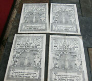 1908 Brains For The Retailer And Advertiser Magazine Lot Of 4 Outing Press Ny