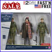 Doctor Who 1975 U.n.i.t Terror Of The Zygons 4th Doctor, John And Trooper Figures