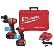 Milwaukee Electric Tools 2996 22 M18 Fuel Hammer Drill/impact One Key Combo Kit