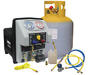 Dual System 50lbs Dot Approved Complete Ac Recovery Machine Mastercool 69365