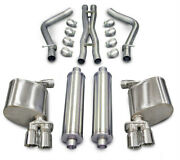 11-  Charger 5.7l Cat Back Exhaust Kit Corsa Performance 14525