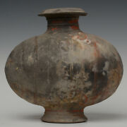 Han Dynasty Antique Chinese Pottery Cocoon Jar