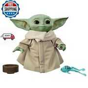 The Child/baby Yoda Talking Plush Toy With Sounds And Accessories Star Wars