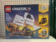 Lego Creator 3in1 Pirate Ship 31109 Building Playset 1260 Pc 9+