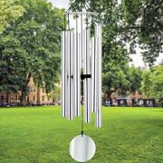 Wind Chimes Outdoor Large Deep Tone, 45 Inch Wind-chimes Memorial With 6 Metal