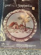 Vintage Good Shepherd Homestead Cross Stitch Kit 803507 New 1984 Ac1