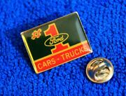 Ford 1 Oval Hat Lapel Pin Accessory Fits F150 Ranger F250 Badge Fairlane Cars